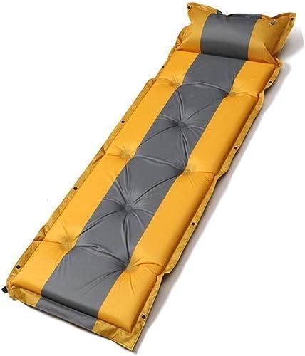JKLL Camping Matelas de Couchage  Tapis de Camping Gonflable ultraléger pour randonnées et randonnées  Tapis de Couchage isolé Durable, Sac de Transport Compact
