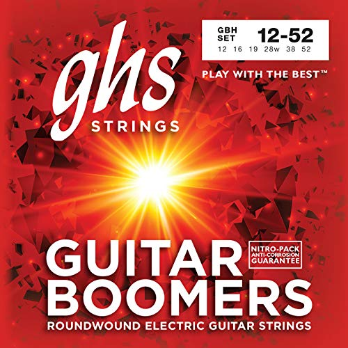 GHS BOOMERS Saitensatz für E-Gitarre - GB-H - Heavy - 012/052