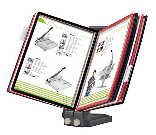 OfficeForce® Sichttafel-Tischständer mit Klapprahmen, erweiterbar (01124)