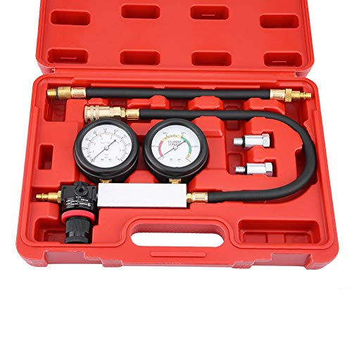 Save %5 Now! Leakdown Detector, Rubber & Hardware Cylinder Leak Tester Petrol Engine Compression Lea...