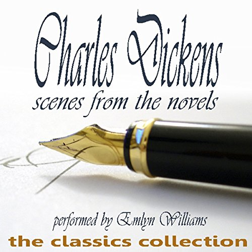 Charles Dickens audiobook cover art