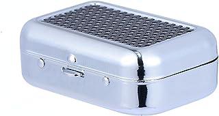 Mini pojemnik na popiół na zewnątrz popielniczka przenośna metalowa pojemnik na popiół papierośnica popielniczka akcesoria...