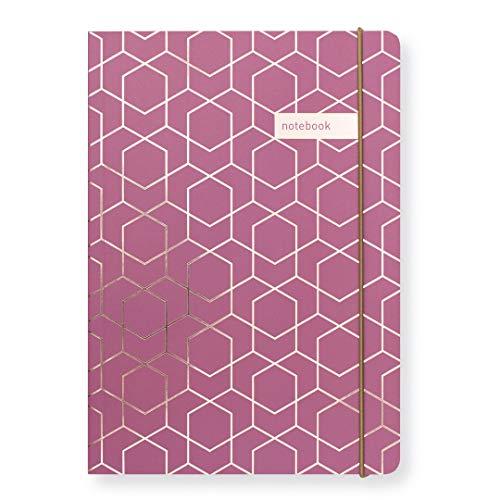 Matilda Linton Myres Notebook – Rose Gold Folie Plum