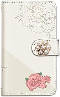 [bodenbaum] OPPO R11 R11 手帳型 スマホケース カード スマホ ケース カバー ケータイ 携帯 OPPO オッポ オッポ アールイレブン SIMフリー バラ バイカラー 薔薇 ローズ f-104-deco (E.ベージュ)