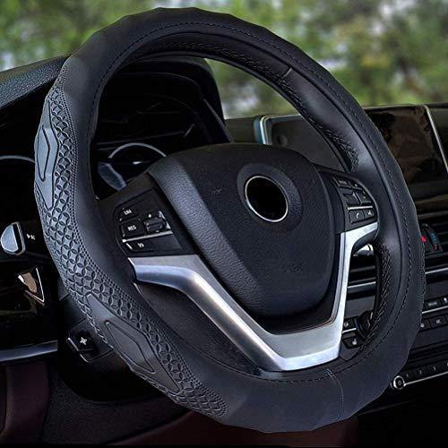 Universele kunstlederen auto stuurwiel cover Skidproof auto stuurwiel cover beschermer passen meeste merk Vheicles A