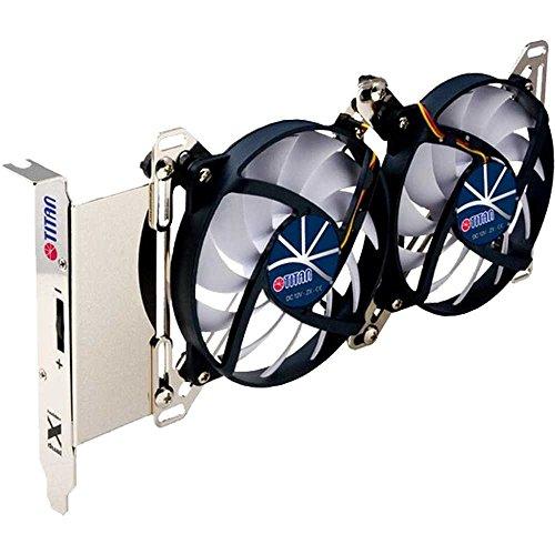 Titan TTC-SC07TZ(RB) Ventilateur, Refroidisseur et radiateur Graphics Card - Ventilateurs, refoidisseurs et radiateurs (Graphics Card, Ventilateur, 9,5 cm, 1000 TR/Min, 1800 TR/Min, 15 DB)