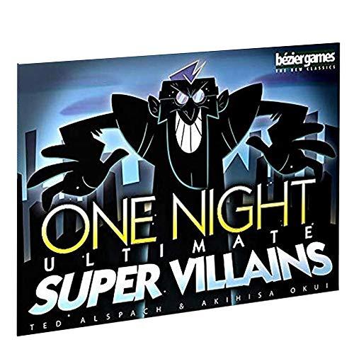 Una Notte Ultimo Super Cattivi Gioco da Tavolo 3-10 Giocatori Game Party Inglese di Divertimento Trovare Giochi di Carte Lie