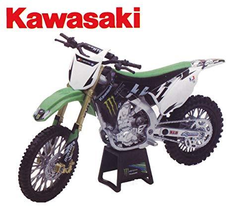 MINIATUR 1:12 Modell Motocross Kawasaki KX450F Replica Monster