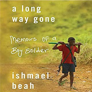 A Long Way Gone     Memoirs of a Boy Soldier              Auteur(s):                                                                                                                                 Ishmael Beah                               Narrateur(s):                                                                                                                                 Ishmael Beah                      Durée: 7 h et 43 min     24 évaluations     Au global 4,5