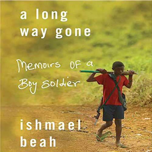 A Long Way Gone audiobook cover art