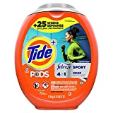 Tide PODS 4 in 1 Febreze Sport Odor Defense, Laundry...