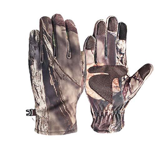 Handschoenen Touch Screen, mannen Outdoor Soft Shell Bionic Camouflage krasbestendige Winddichte Waterdichte Touch Screen Handschoenen Rijden Riding Running M-XL