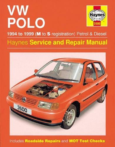 VW Polo Hatchback Petrol & Diesel (94 - 99) Haynes Repair Ma