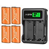 JYJZPB 4X 2800mAh Batería con Cargador para Mando Xbox One/Xbox Series X&S Xbox One S X One Elite