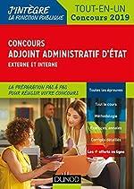 Concours Adjoint administratif d'Etat - Externe et interne - Tout-en-un - Concours 2019 d'Audrey Charmont