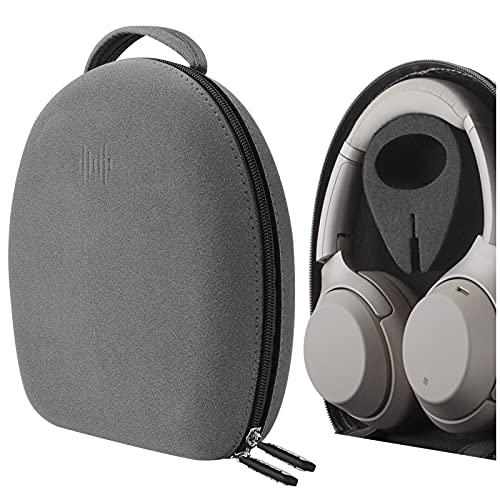 Geekria Funda para Auriculares Sony WH-CH710N, MDR-M1ST, WH-CH700N, XB950BT, XB950B1, XB950N1, XB950AP, MDR-10R, WH-1000XM3, Viaje Bolsa