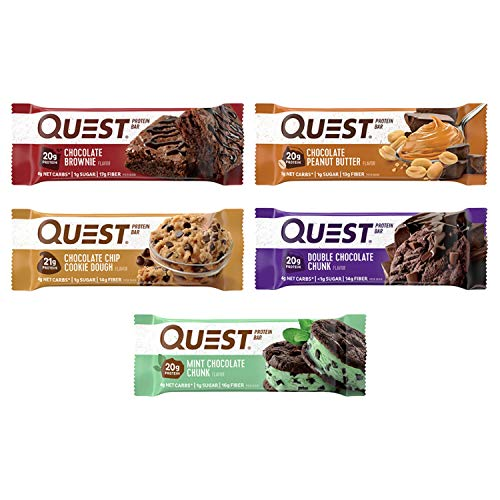 Quest Nutrition High Protein Low Carb Gluten Free Keto Friendly 12 Count