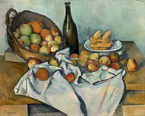 Paper Placemats for Dining Table Kitchen Table Place Mats Disposable Table Decor Cezanne Apples and Wine Pak 24