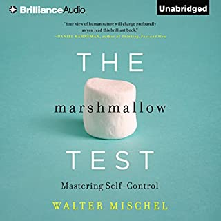 The Marshmallow Test     Mastering Self-Control              By:                                                                                                                                 Walter Mischel                               Narrated by:                                                                                                                                 Alan Alda                      Length: 7 hrs and 54 mins     564 ratings     Overall 4.1