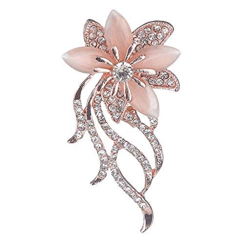 Harilla Pin de Solapa con Broche de Flor en El Ojal de Margarita de Flores Hechas a Mano para Mujer