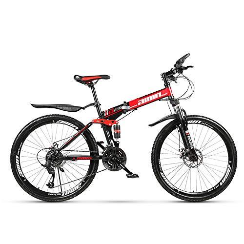 """petit un compact ZLZNX 24 """"VTT à suspension intégrale, vélo pliant avec freins à double disque, suspension avant, cadre…"""