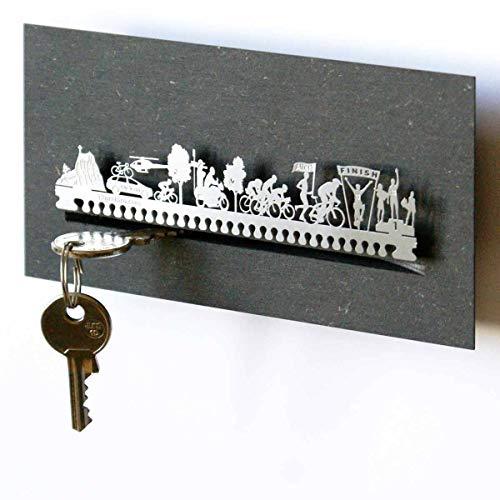 13gramm Rennrad Schlüsselbrett in der Geschenk-Box
