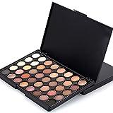 Yogogo Kosmetische Matte Lidschatten Creme Make-up Palette Schimmer Set, 40 Farbe + Pinsel Set...