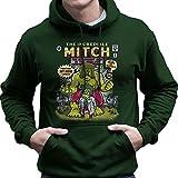 Cloud City 7 The Incredible Mitch Regular Show Men's Hooded Sweatshirt