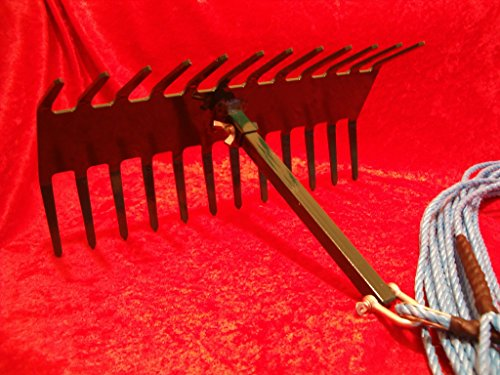 Jakes Rakes Pond weed rake with removable stock