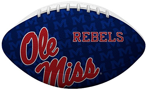 NCAA Gridiron Junior-Size Youth Football, Mississippi Old Miss Rebels