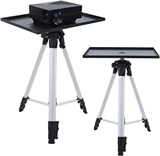Aluminum Tripod, Adjustable Height Durable Metal Construction Portable Solid and Strong Non-Slip Pads and Straps Multi-Fun...