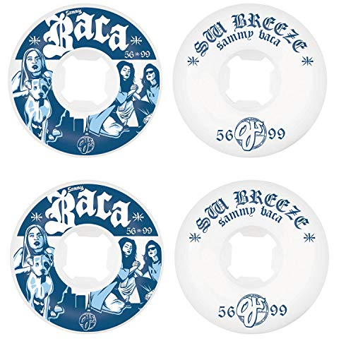 OJ III Skateboard Wheels 56mm Baca Vegas 2 EZ Edge 101A