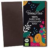 bean2bar - Bio 100 % RAW & Nibs. Handgemachte Edelschokolade mit Kakaonibs - aus rohen...