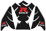 Chongxiang Estilo durable accesorios de la motocicleta for Suzuk!GSXR 600 750 1000 K1 K3 K4 K5 K6 fibra K7 K8 K9 de la motocicleta del carbón 3D Fish Tank Bone vinilo decorativo Fácil de instalar (Col