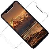 TOCYORIC Pellicola Vetro Temperato Compatibile con Xiaomi Mi A2 Lite, Pellicola Protettiva per Mi A2 Lite [Facile da Pulire] [Ultra Resistente] [Durezza 9H][3 Pezzi]
