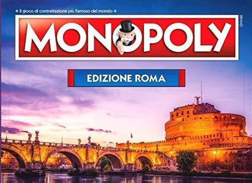 Winning Moves Monopoly - Citta' Di Roma Merchandising Ufficiale