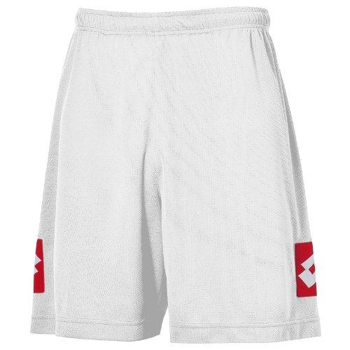 Lotto Herren Fußball-Shorts (XSB) (Weiß)