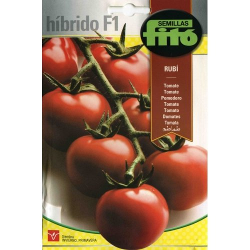Semillas Fitó Tomate Rubí Híbrido