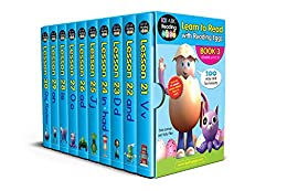 Learn to Read with Reading Eggs Box Set 3: Lessons 21–30 by [Sara Leman, Katy Pike, Reading Eggs]