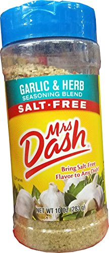 Mrs Dash Garlic & Herb Salt Free Seasoning Blend 283g …