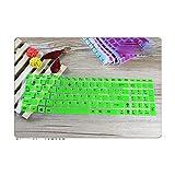 Funda protectora para teclado Asus Vivobook X540 X540L X540Lj X540Ca X540Sa X540Sa X540La X540Sc X550Jd X550Jf X550La-Verde