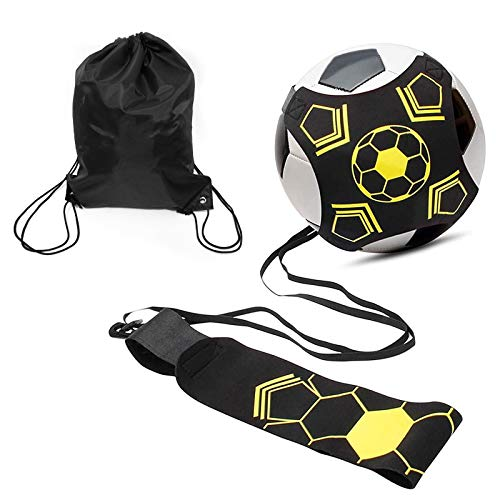 TUT Entraîneur de football, kit d'entraînement pour le ballon de football, corde de l'instructeur...