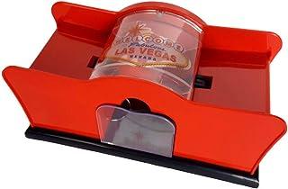 "CHH Card Shuffler 2 Deck Hand Crank, ""Welcome To Las Vegas"""