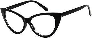 324234a160 Dawnzen Mujer Gafas de Gato Montura Marcode Gafas, 50's Ojo De Gato Cat Eye  Lente