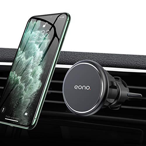 Amazon Brand - Eono Porta Telefono da Auto Magnetico, Universale Supporto Cellulare Auto con Rotazione a 360°, Compatibile con iPhone 12/11 /Xr, Samsung Galaxy S20/S10, HUAWEI