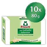 Frosch wie Gallseife Seifenstück, vegan, 10er Pack (10 x 1 Stück)