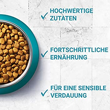 PURINA ONE BIFENSIS Sensitive Lot de 4 boîtes de Nourriture sèche Riche en Dinde, 4 x 3 kg