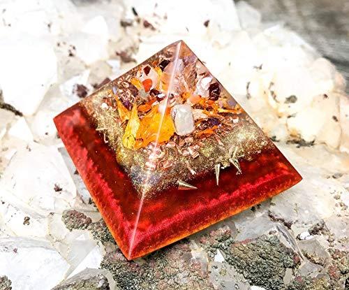 Orgonite Pyramid to Manifest Abundance