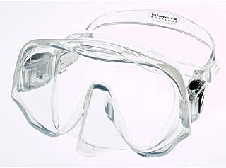 Atomic Aquatics Frameless Scuba Diving Dive Mask, Clear Medium (Smaller Faces)