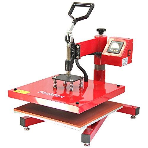 PixMax Swing Prensa de Calor Maquina de Prensa de Calor Máquina de la sublimación de la transferencia de la prensa del calor de la camiseta, uso para industrial, profesional y casero   38cm x